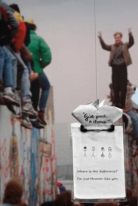 Berlin Wall Museum Message By Patrick Davies