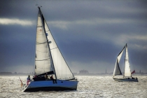 Third Place - Sailing The Silver Sea By Peter Parnell
