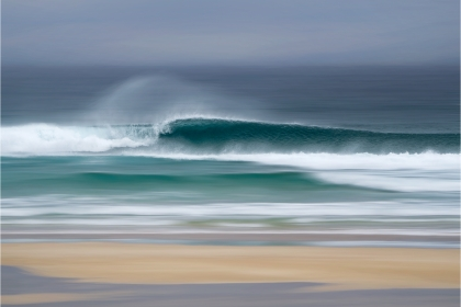 First Place - Hebridean Wave By Carol Watson